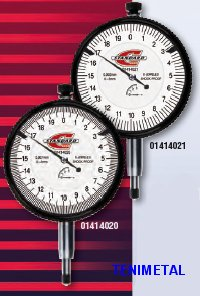 Comparadores de reloj 60 standard gage