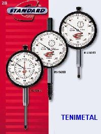 Standard-gage/Comparadores de reloj 60 milesimal