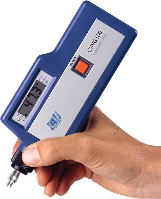 medidor de vibraciones portatil vibrocheck VG100